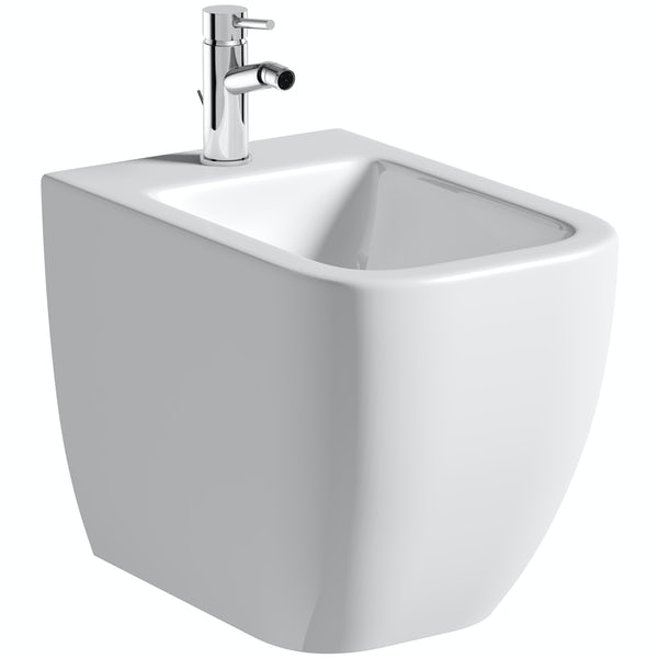 Mode Ellis floorstanding bidet with fixings