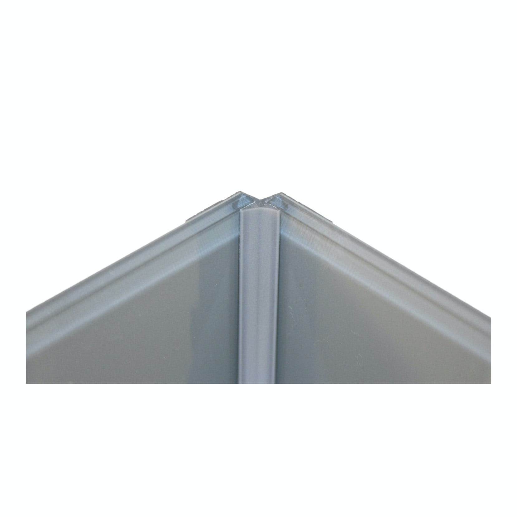 Zenolite plus matt ash colour matched internal corner joint 250mm