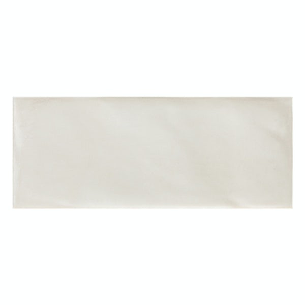 Chateau white bumpy matt wall tile 200mm x 500mm