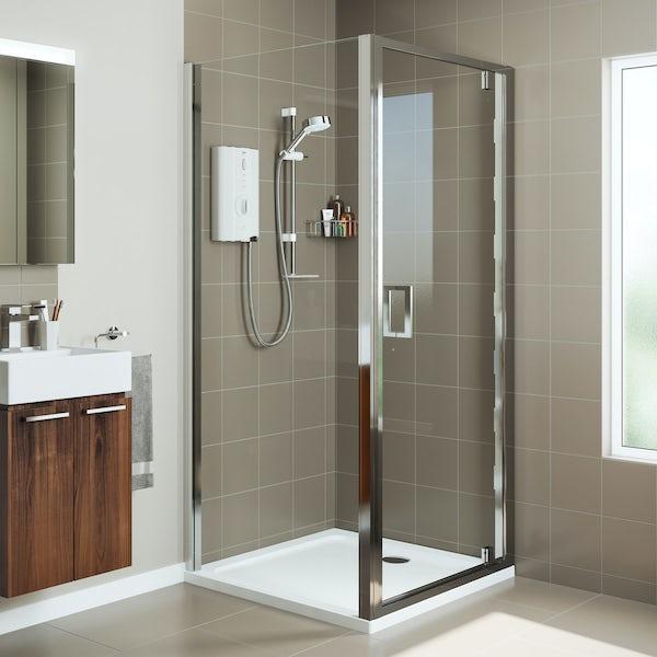Mira Leap square pivot shower enclosure