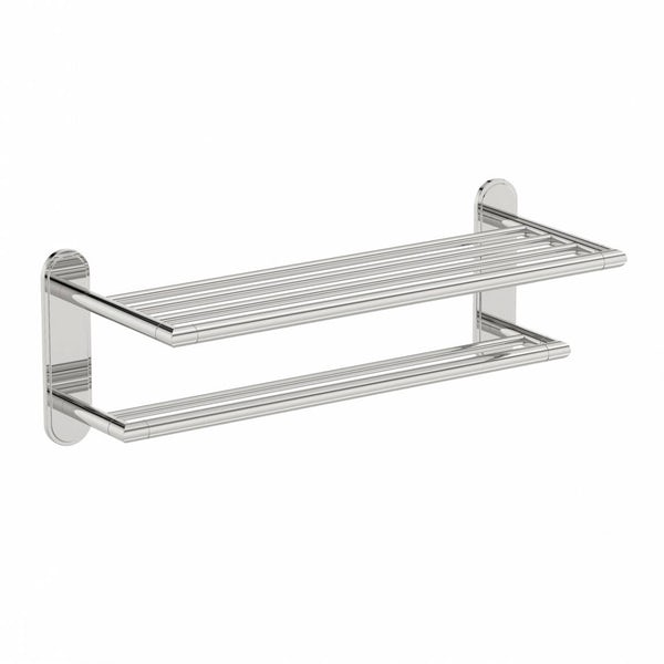 Options Contemporary Towel Shelf