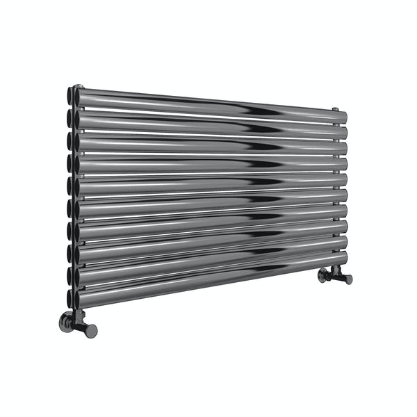 Reina Artena double brushed stainless steel designer radiator