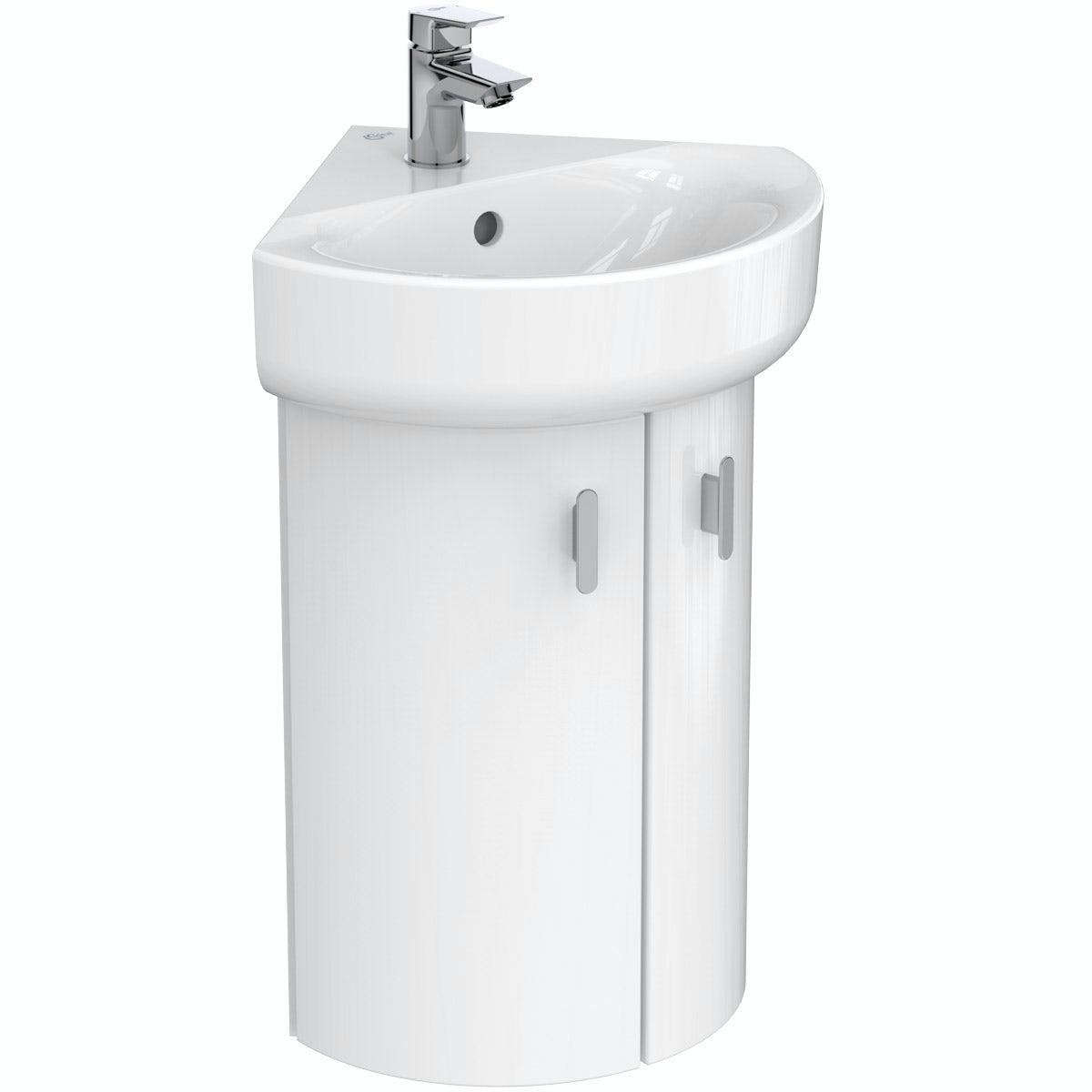 Ideal Standard Concept E White Wall