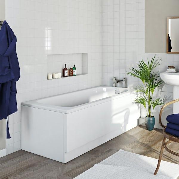 Kaldewei Saniform Plus straight steel bath