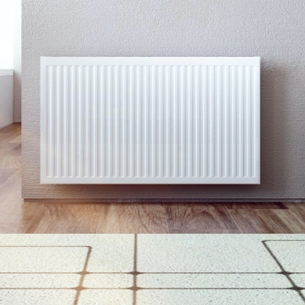 The Heating Co. Type 11 Compact white single convector radiator