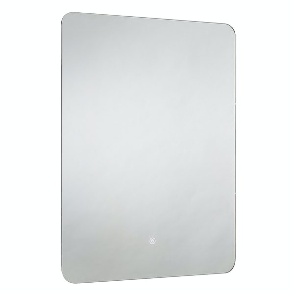 Mode Rahm back-lit diffused LED illuminated mirror 800 x 600mm with demister & charging socket