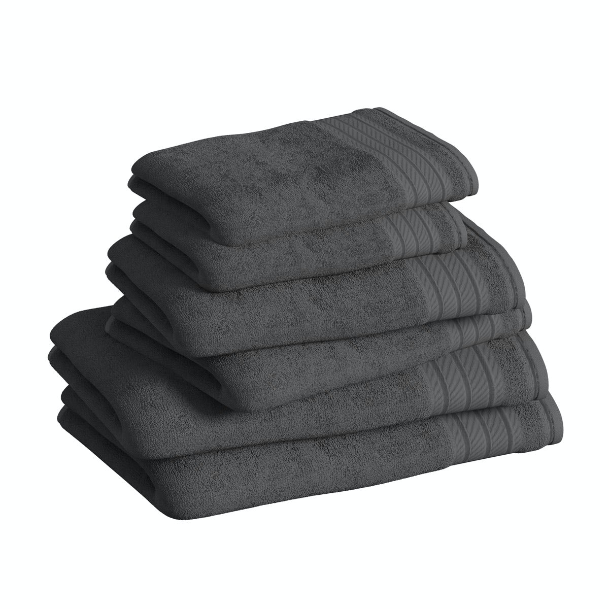 Supreme charcoal grey towel bale