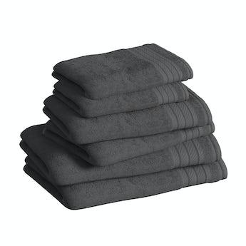 Supreme charcoal grey towel bale