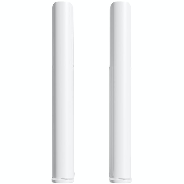 Clarity white 2 column radiator feet