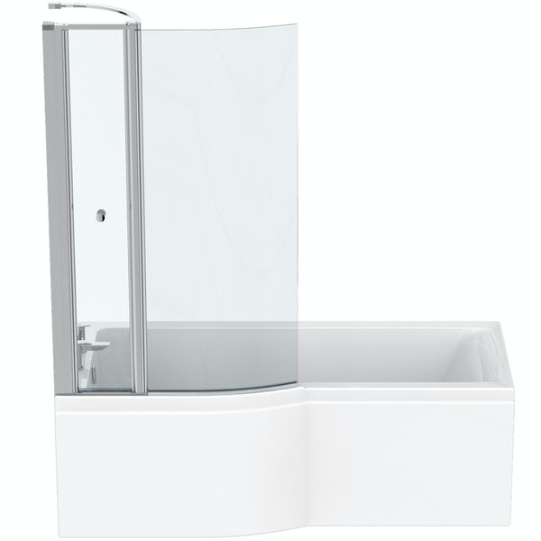 Ideal Standard Concept Air left hand Idealform Plus bath, screen and front panel