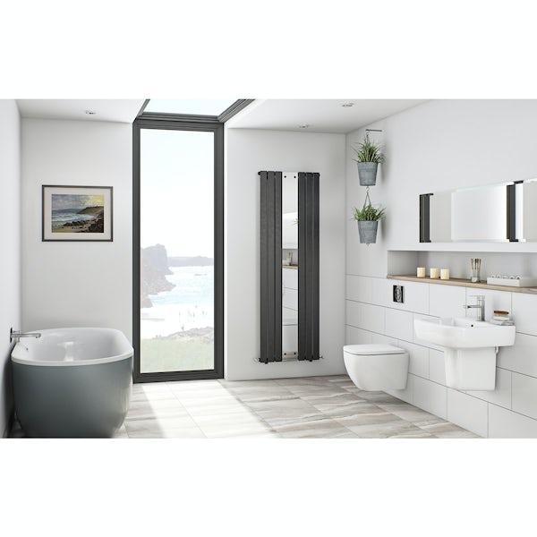 Mode Ellis storm freestanding bath suite
