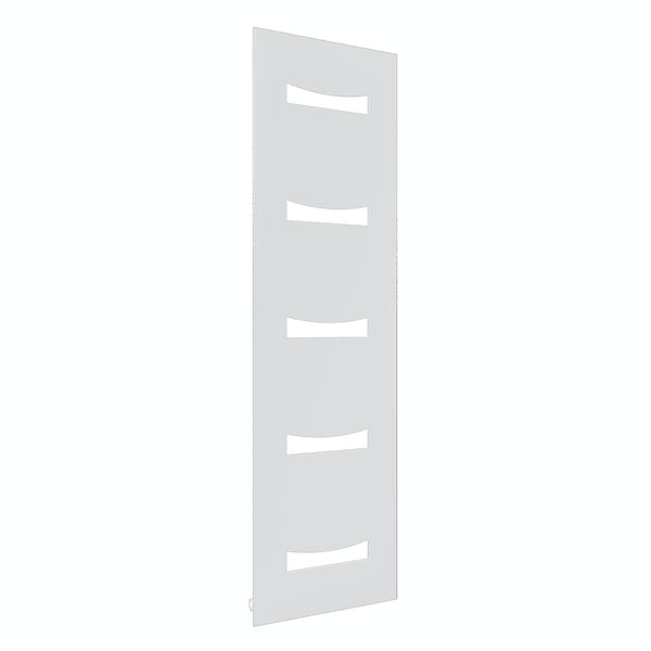 Reina Ancora white steel designer radiator 1800 x 490mm