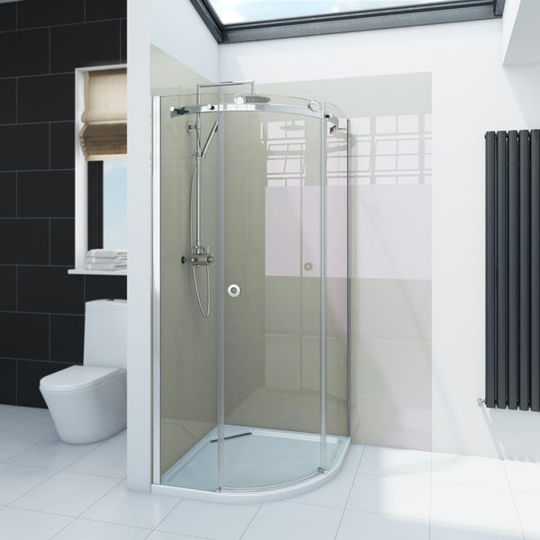 Zenolite plus stone acrylic shower wall panel 2440 x 1000