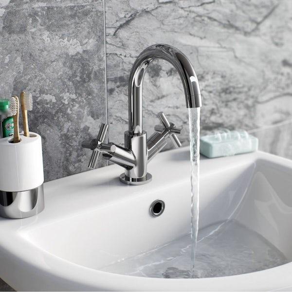 Tate Basin Mixer and Bath Tap Pack