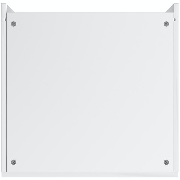 Schon Chicago white slab 600mm larder unit
