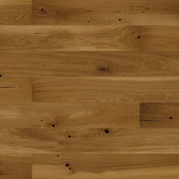 Basix Narrow Butterscotch engineered matt UV lacquered click wood flooring