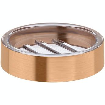 Orchard Glaze copper soap dish