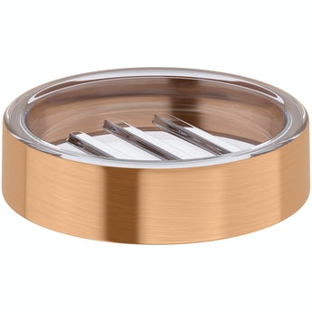 Accents Glaze copper soap dish