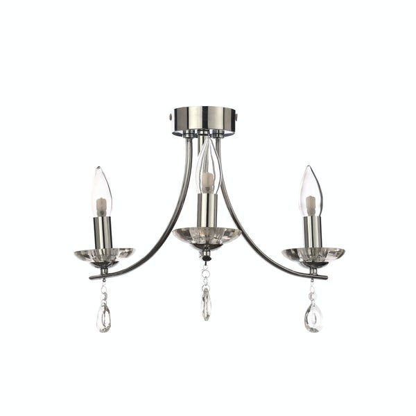 Marquis by Waterford Bandon 3 light bathroom ceiling light
