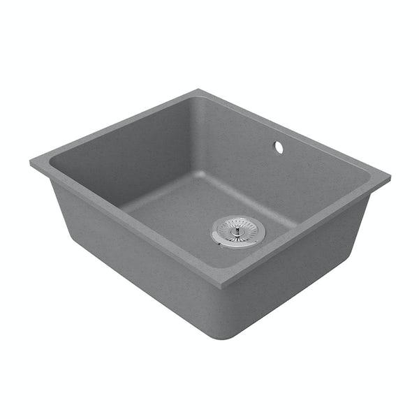 Schon Terre Cobblestone 1.0 bowl reversible undercounter kitchen sink