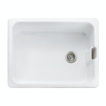 Rangemaster Farmhouse belfast ceramic kitchen sink with waste kit
