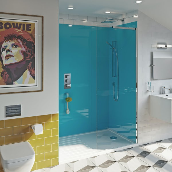 Showerwall Acrylic Azure shower wall panel