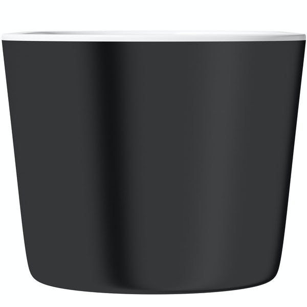 Mode Tate freestanding bath black 1500 x 700