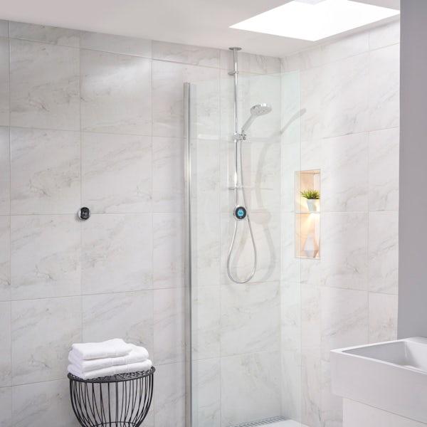 Aqualisa Optic Q Smart exposed shower with adjustable handset