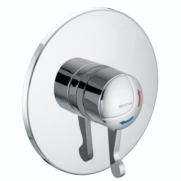 Bristan OPAC concealed thermostatic shower valve with lever handle