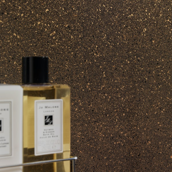 Showerwall Copper Quartz waterproof shower wall panel