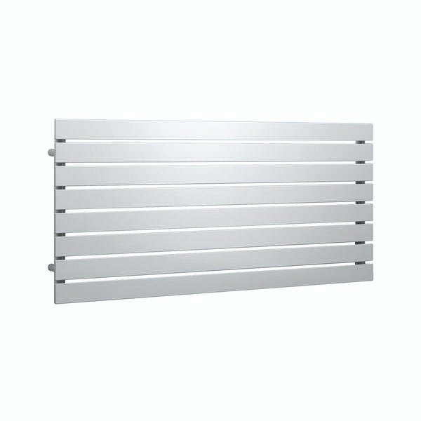 Reina Rione white single steel designer radiator