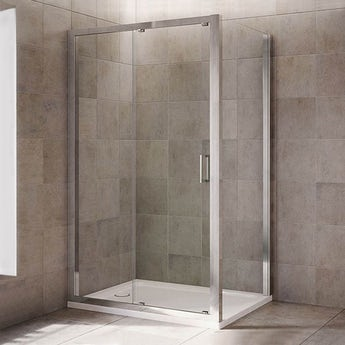 Mira Leap rectangular sliding shower enclosure
