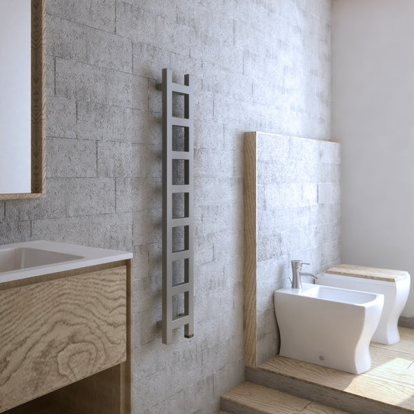 Terma Easy ONE sparkling gravel electric towel rail
