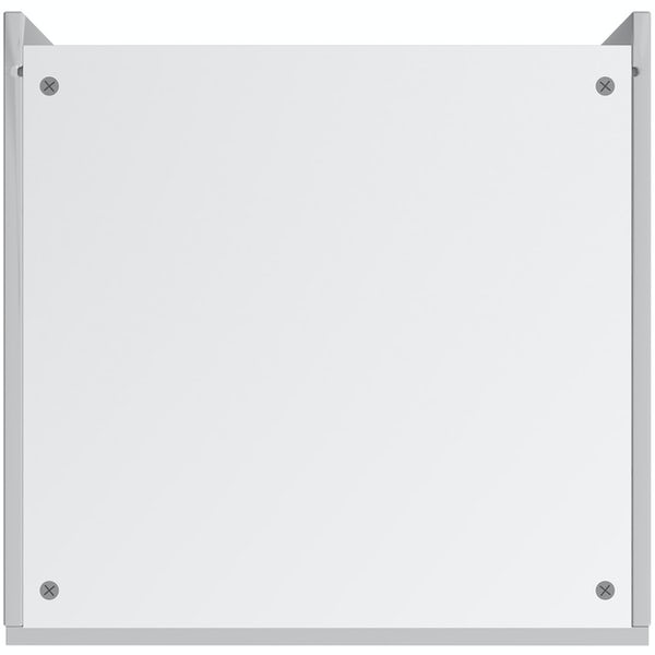 Schon Chicago light grey slab 600mm double oven housing unit