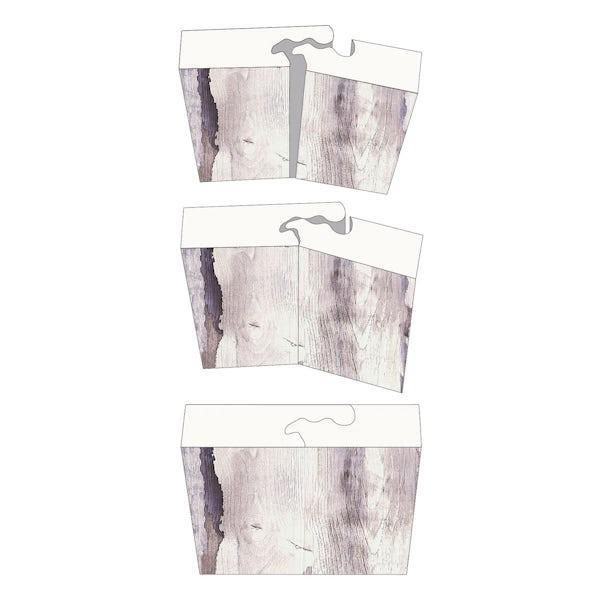 Showerwall White Galaxy waterproof proclick shower wall panel