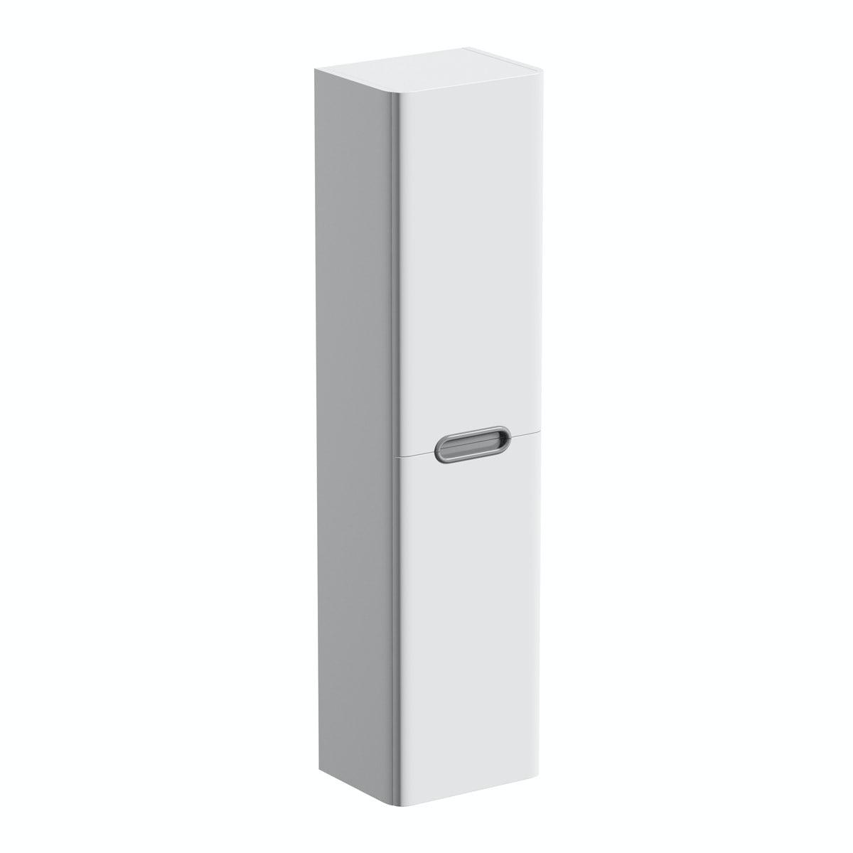 Sherwood  wall mounted storage in white