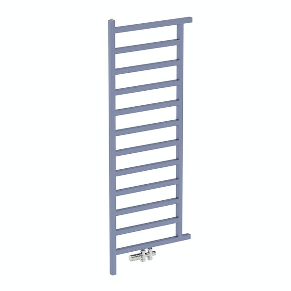 Simple pigeon blue heated room divider 1515 x 500