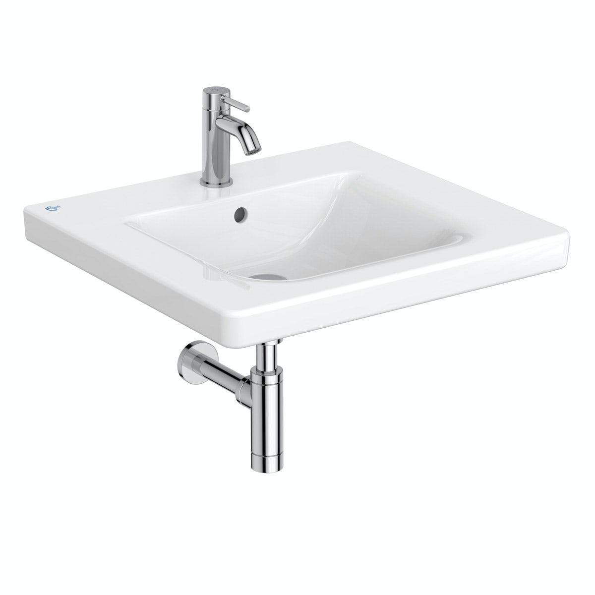 Ideal Standard Concept Freedom 1 tap hole accessible basin 600mm