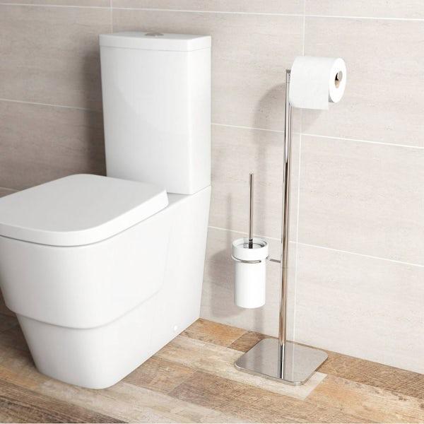 Options Tall Freestanding Toilet Organiser