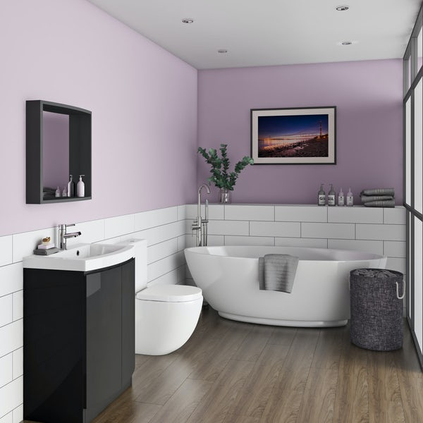 Mode Harrison complete freestanding bath and furniture suite