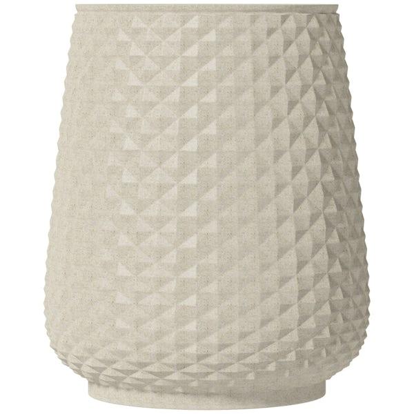 Accents ceramic cream tumbler
