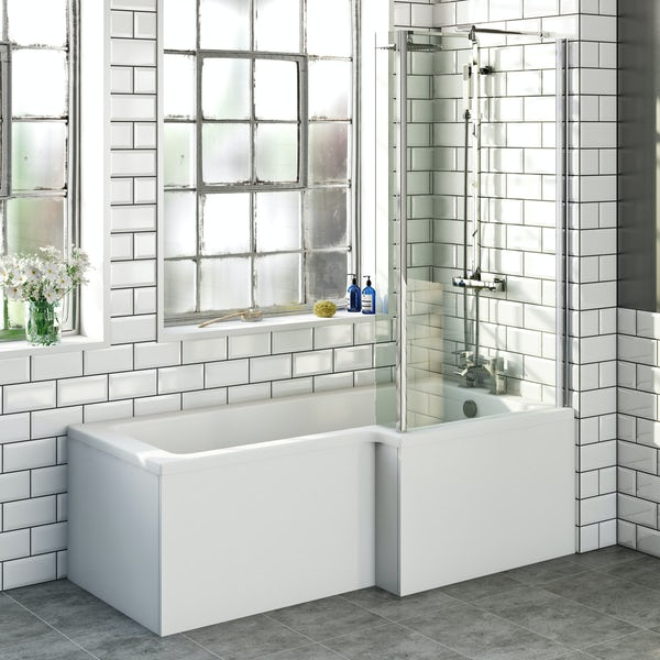 Boston Shower Bath 1700 x 850 RH inc. Screen