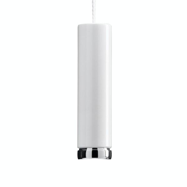 Croydex blanc light pull