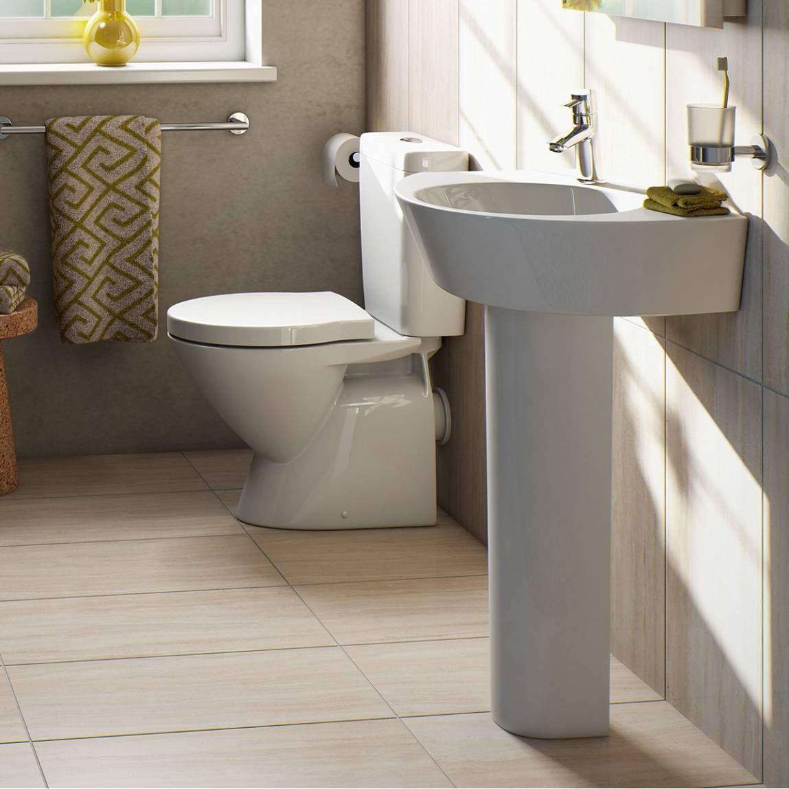 Ancona 4 Piece Bathroom Suite Victoria Plumb