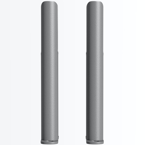 The Heating Co. Corso anthracite grey 2 column radiator feet