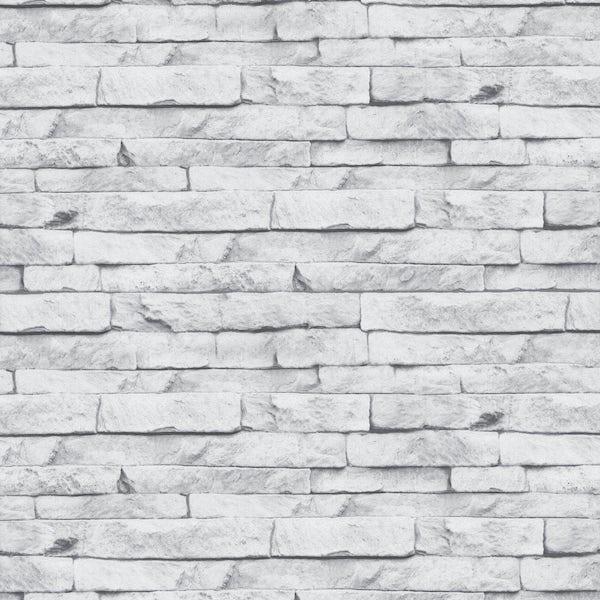 Graham & Brown Superfresco easy odysee white stone wallpaper