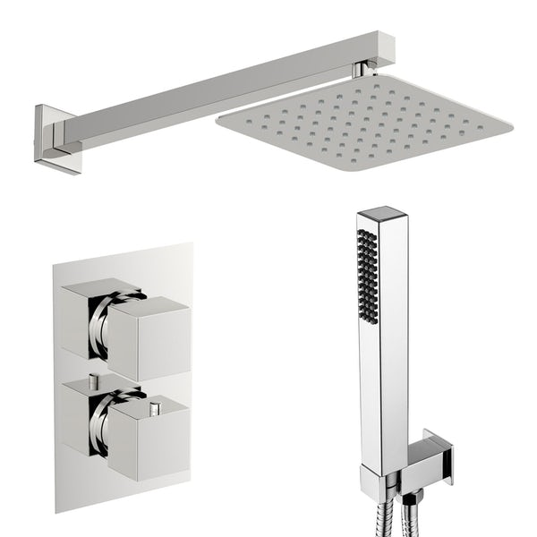 Mode Ellis thermostatic mixer shower with handset outlet