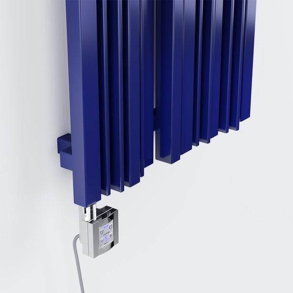 Terma KTX 4 BLUE chrome heating element controller