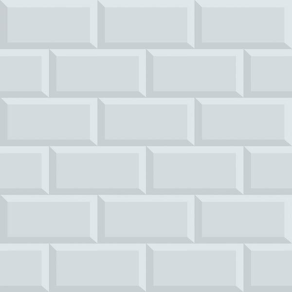 Graham & Brown Superfresco easy parisio gris brick wallpaper