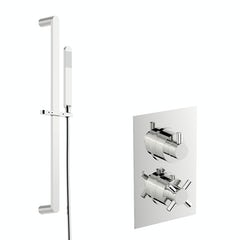 Main image for Mode Tate thermostatic shower valve with slider rail kit